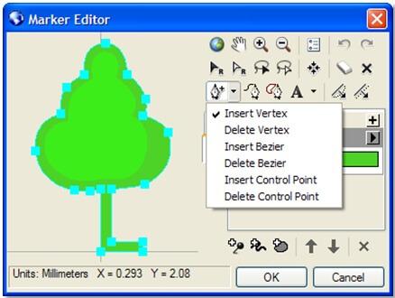 Rys. 1. Tworzenie symboli przy pomocy edytora sygnatur.