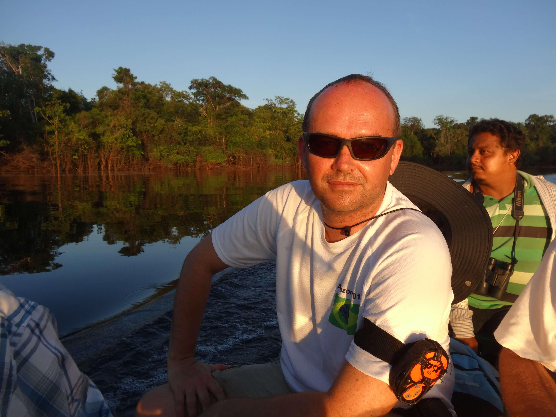 Wyspy archipelagu Anavilhanas na Rio Negro. Fotografia: Piotr Wężyk.