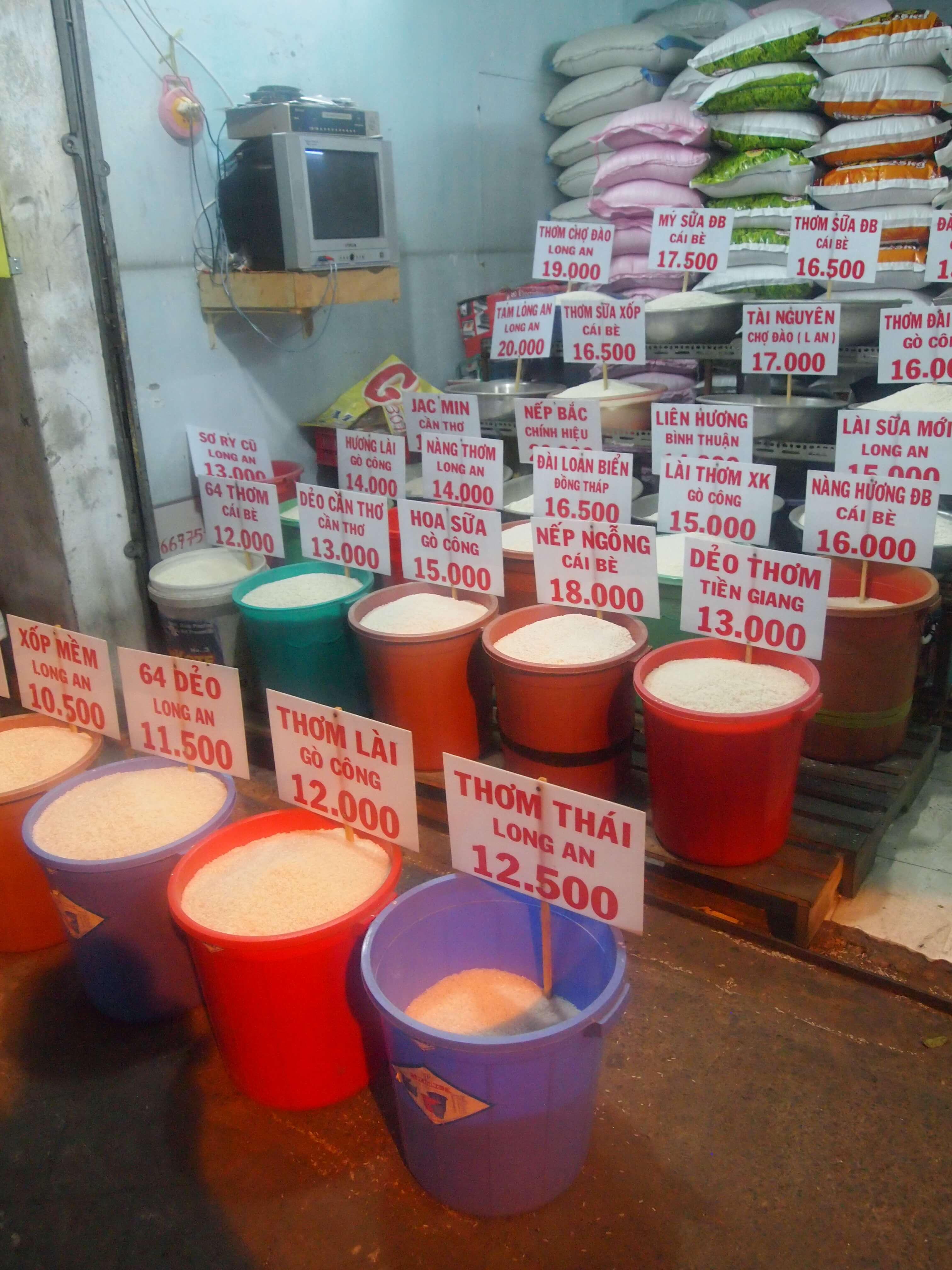 Stragan z ryżem – 27 rodzajów…