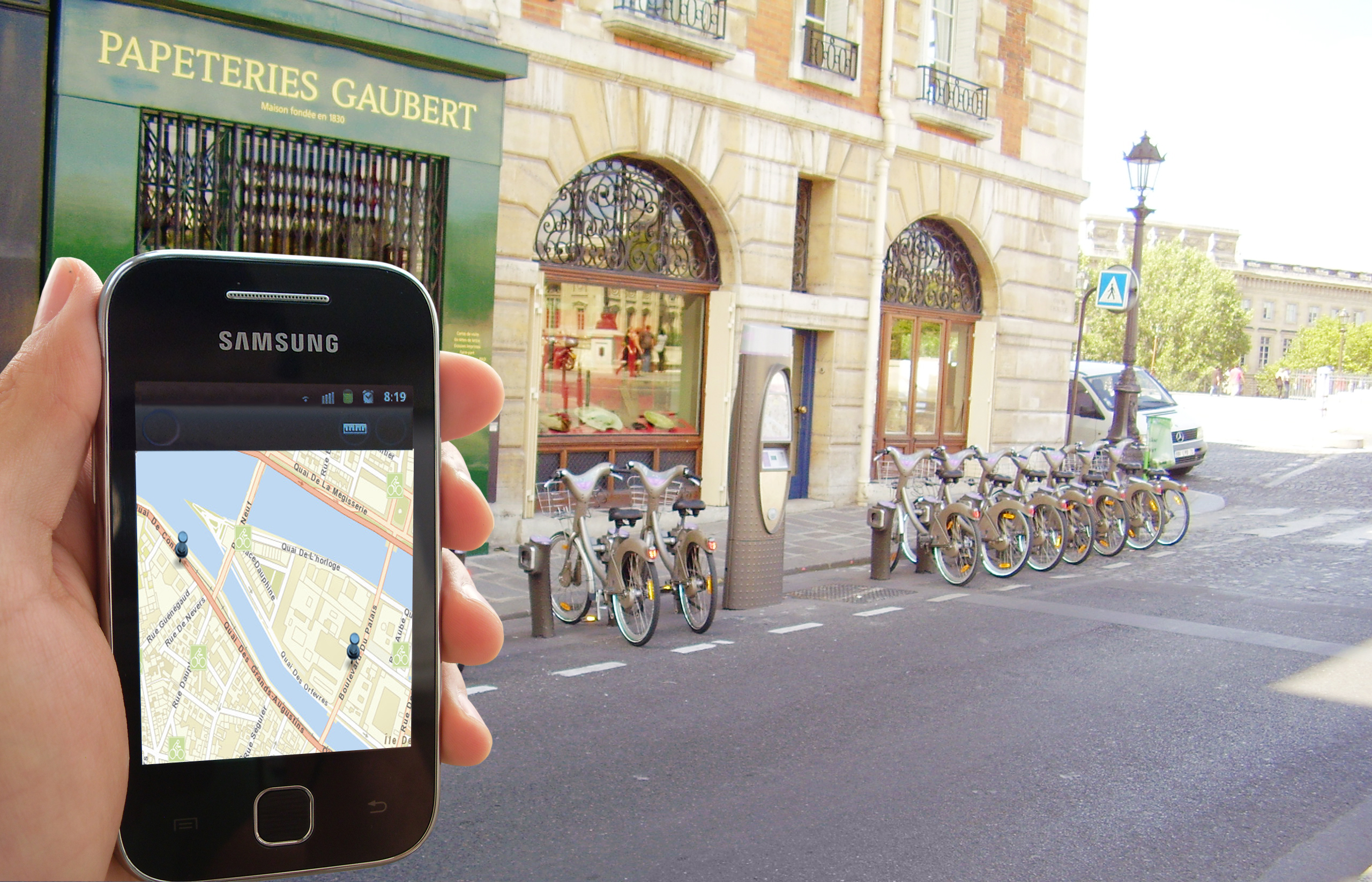 Podróże rowerowe z aplikacjami mobilnymi