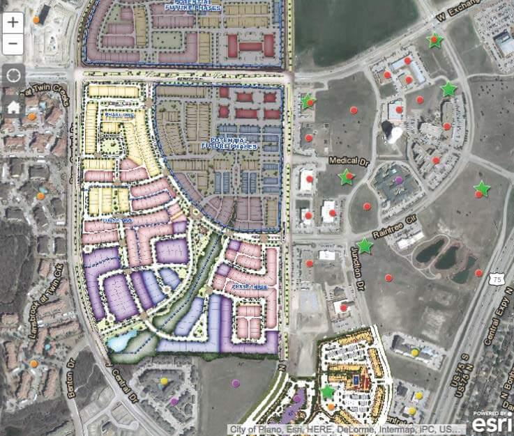 Analizy sieciowe: mapa nieruchomości korporacji