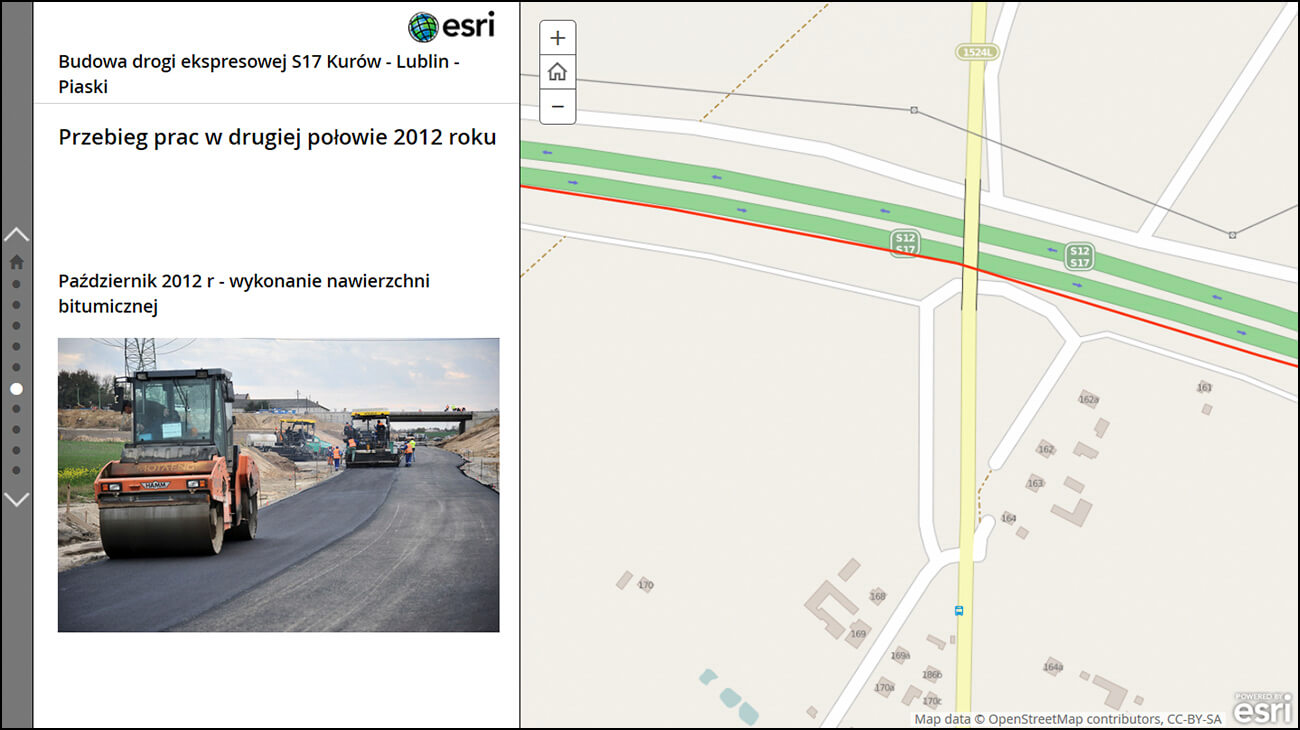 Rys. 2. Zdjęcie z budowy drogi S17