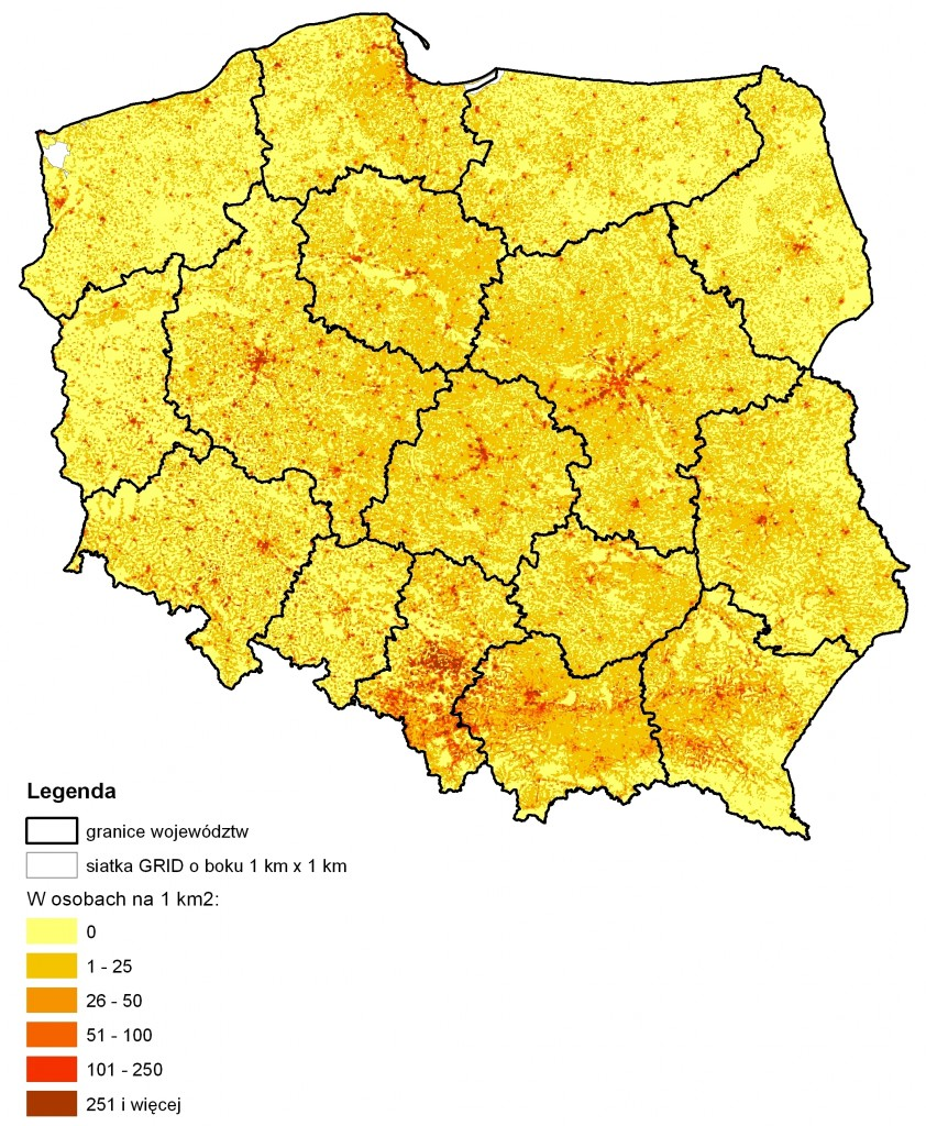 Rys. 3. Dojeżdżający do pracy w Polsce w 2011 roku