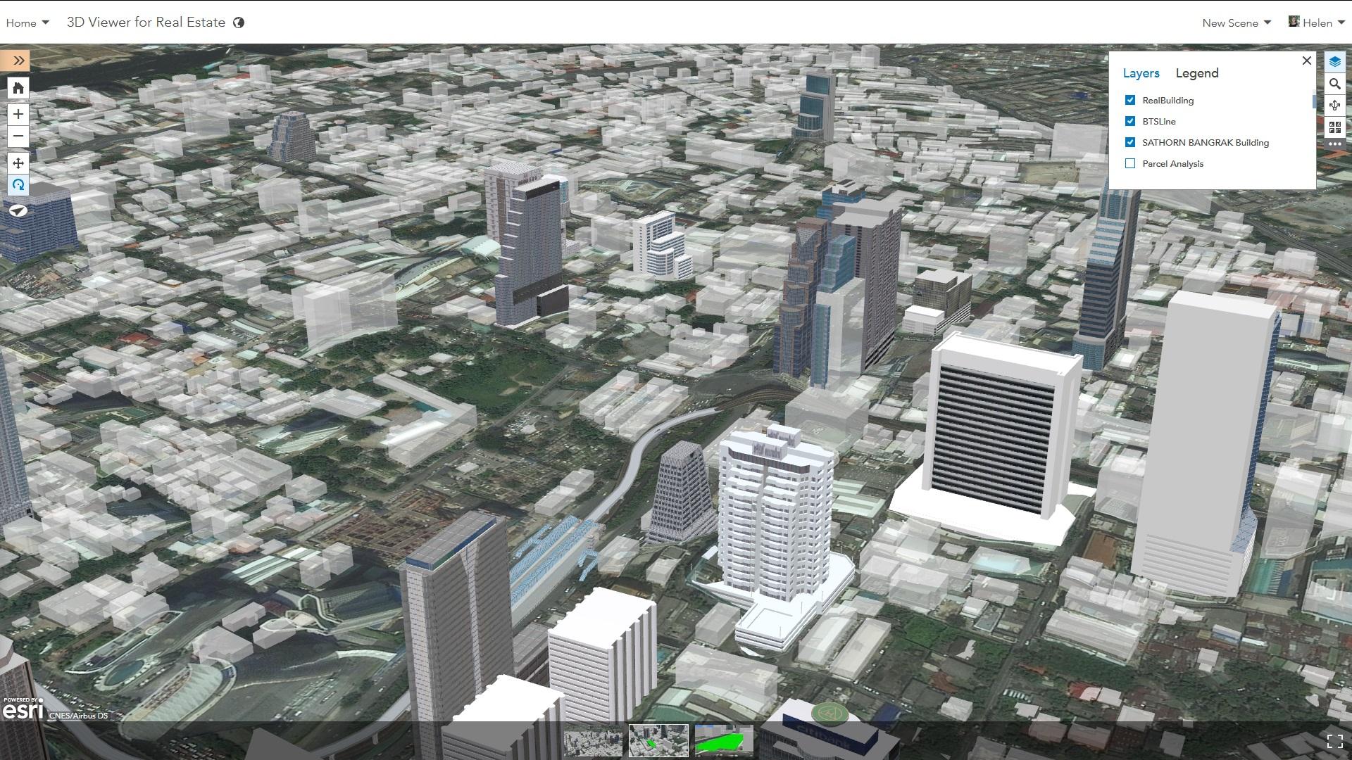 Rys. 1. Kiedy korzystasz z platformy lokalizacyjnej, możesz łatwo zbudować, publikować i dzielić się danymi w sieci; mogą one mieć formę prostych plików, ale także eleganckich, interaktywnych scen 3D, które można oglądać korzystając z dowolnego urządzenia.