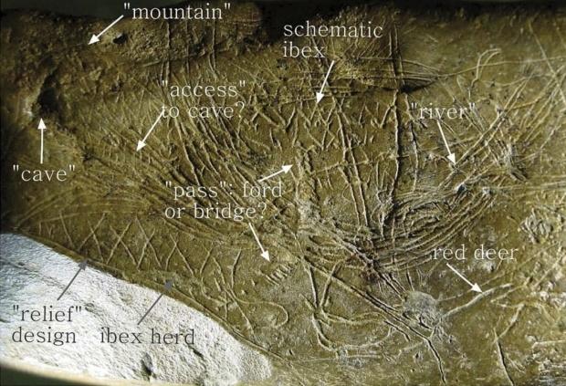 Rys. 1. Mapa okolic jaskini Abauntz