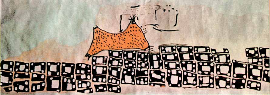 Rys. 2. Mapa miasta Çatalhöyük