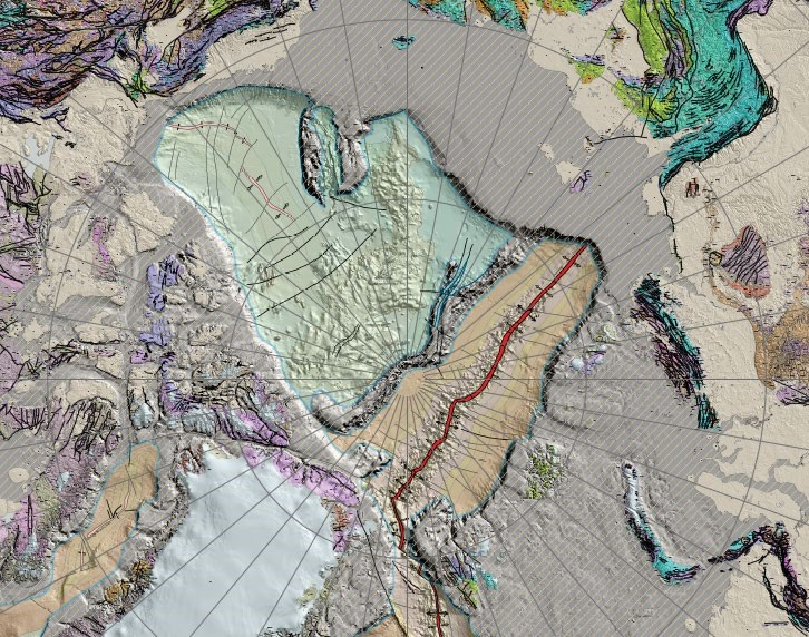 rys 1 the large format poster map of tectonic