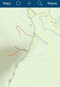 Mapa do zbierania danych w ArcGIS