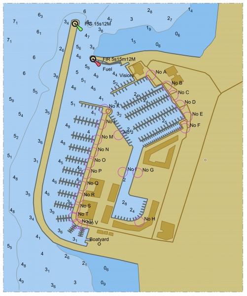 Rys. 1. ENC portu Herzliyah.