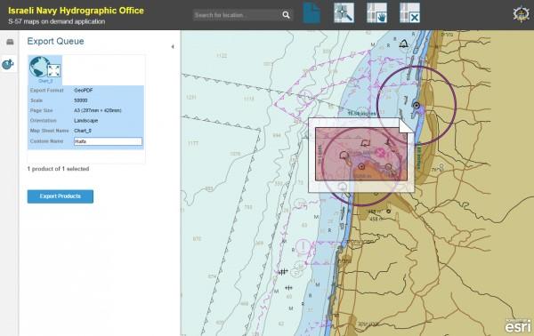 """Rys. 2. Oparty na ENC system """"produktu na życzenie"""", który automatycznie tworzy i udostępnia mapy."""