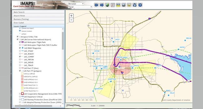 Rys. 5. Korzystając z aplikacji IMAPS personel lotniska może w jednym miejscu dokumentować i śledzić skargi dotyczące hałasu. IMAPS usprawnia raportowanie zgodności i pomaga pracownikom lotniska analizować trendy w zakresie skarg.